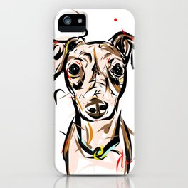 Peach Solomita iPhone Case