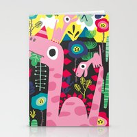 dino Stationery Cards featuring Dino by Marijke Buurlage
