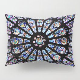 Cathedral Stained Glass Pillow Sham