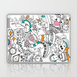 My Happy Doodle Laptop & iPad Skin