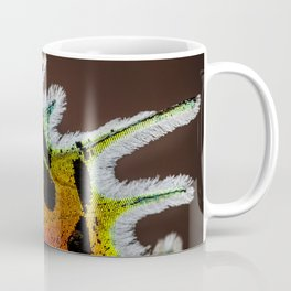 Wing of a Madagascan Sunset Moth, Shimmering with the Vivid Imagination of Nature Coffee Mug