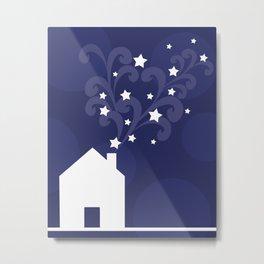 Magical chimney Metal Print