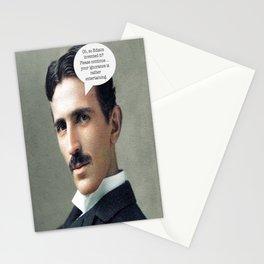 Nikola Tesla Stationery Cards