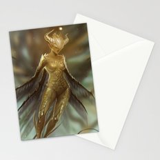 Golden Fairy Stationery Cards