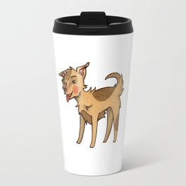 Lucky the Mixed Breed Travel Mug