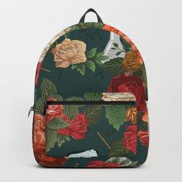 Chemistry Floral Backpack