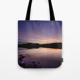 Pahranagat National Wildlife Refuge Sunset #2 Tote Bag