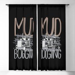 Mud Bogging Mudding Offroad Vehicles Trucks Blackout Curtain