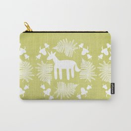 Acorn Fern Unicorn Carry-All Pouch