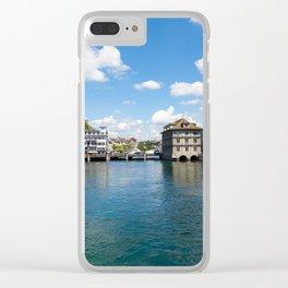 Zürich Clear iPhone Case
