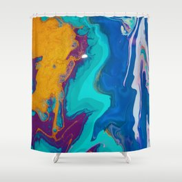 Acrylics By KD Shower Curtain