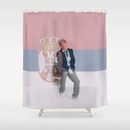 ESC Serbia 2007 Shower Curtain