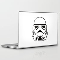 stormtrooper Laptop & iPad Skins featuring stormtrooper by Vreckovka