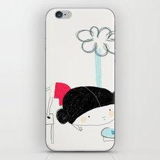 What the rain brings iPhone & iPod Skin