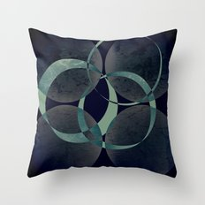 Make a left after the Milky Way Throw Pillow
