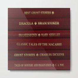 Book Collection Metal Print