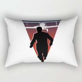North By Northwest: Alfred Hitchcock + Cary Grant + plane = film classic Rectangular Pillow