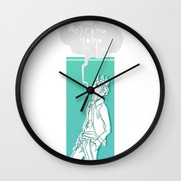 We'll Come Home Wall Clock