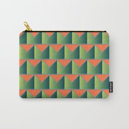 Fake 3D triangles Carry-All Pouch