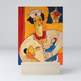 The Pediatric Nurse Mini Art Print