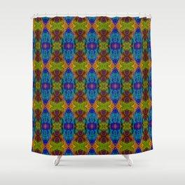 Varietile 50b (Repeating 2) Shower Curtain