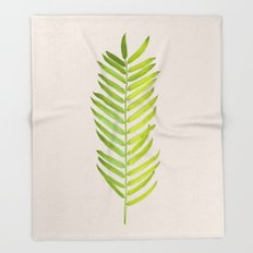 Green #society6 #decor #buyart Throw Blanket