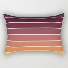 Gradient Arch - Sunset Rectangular Pillow