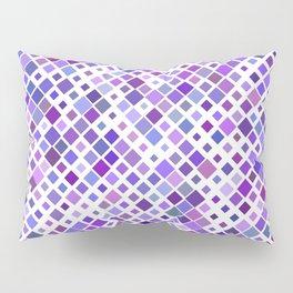 Purple Squared Pillow Sham