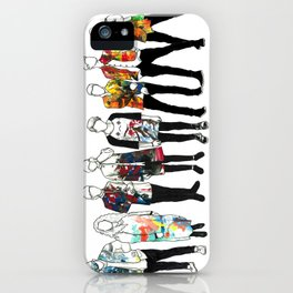 Music Improvised Art Series iPhone Case
