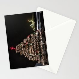 Lobster trap tree at the Nubble Lighthouse Stationery Cards