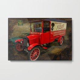 Vintage Van Metal Print