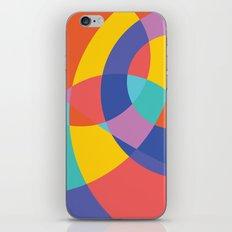 Geometric Beach Ball 1 iPhone & iPod Skin