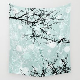 Winter Branches - Graphic Wall Tapestry