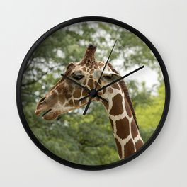 Talking Giraffe Wall Clock