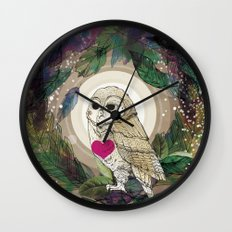 The Great Owl Wall Clock