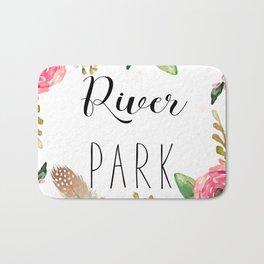 River Park - Sacramento cushion Bath Mat