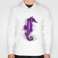 sea horse Hoodies featuring sea horse by Natasha79