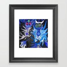 Liberalitas & Moneta Framed Art Print