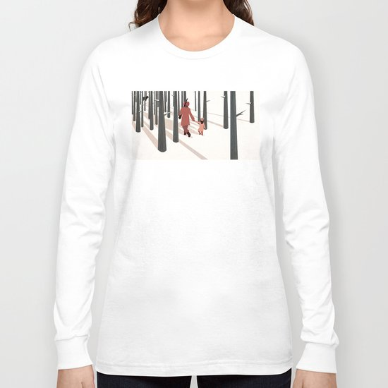we're not out of the woods yet... Long Sleeve T-shirt