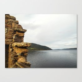 Crumbling Castle Canvas Print