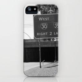JFK Assassination Bridge iPhone Case