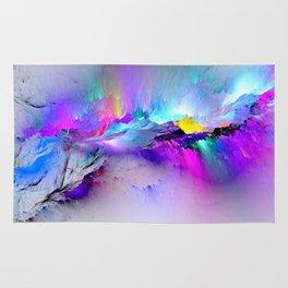 Unreal Rainbow Explosion Rug