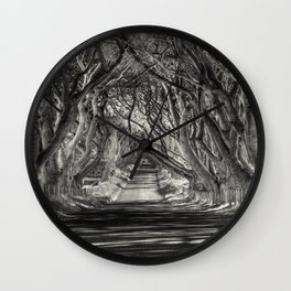 See the beauty series - Open Road - V. - Wall Clock