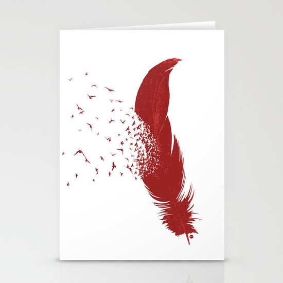 Birds of A Feather (Society6 Edition) Stationery Cards