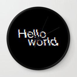 Hello world Wall Clock