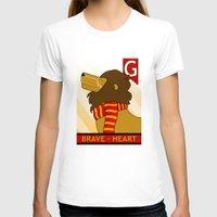 gryffindor T-shirts featuring Gryffindor Lion by makoshark