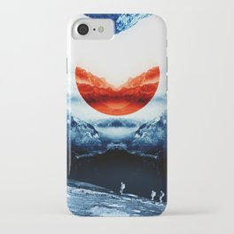 mission blue iPhone Case