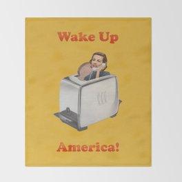 Wake Up Call Throw Blanket