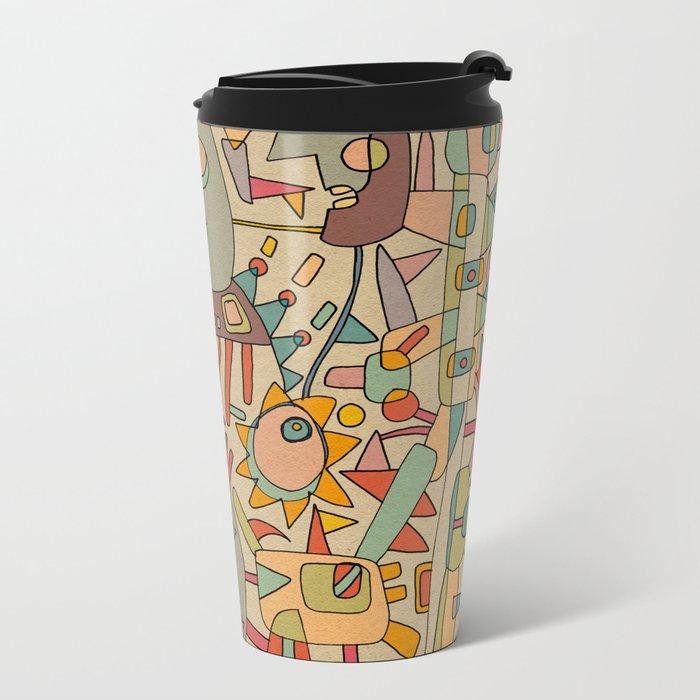 - schematic - Metal Travel Mug
