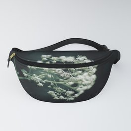 Ballet of white flowers Fanny Pack